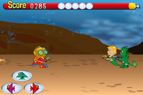 Screenshot Deep Sea Battle