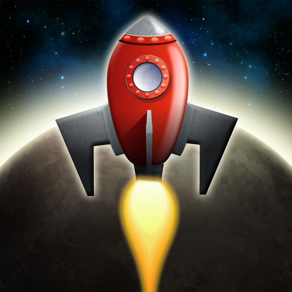Lunar Spacecraft Pilot - Asteroid Miner iOS
